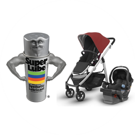 Picture of SUPER LUBE® ON BABY STROLLERS