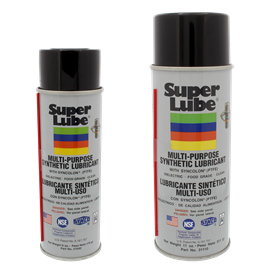 Picture of HOW DOES SUPER LUBE® MULTI-PURPOSE SYNTHETIC LUBRICANT AEROSOL COMPARE TO AEROSOL LUBRICANTS LIKE WD-40?